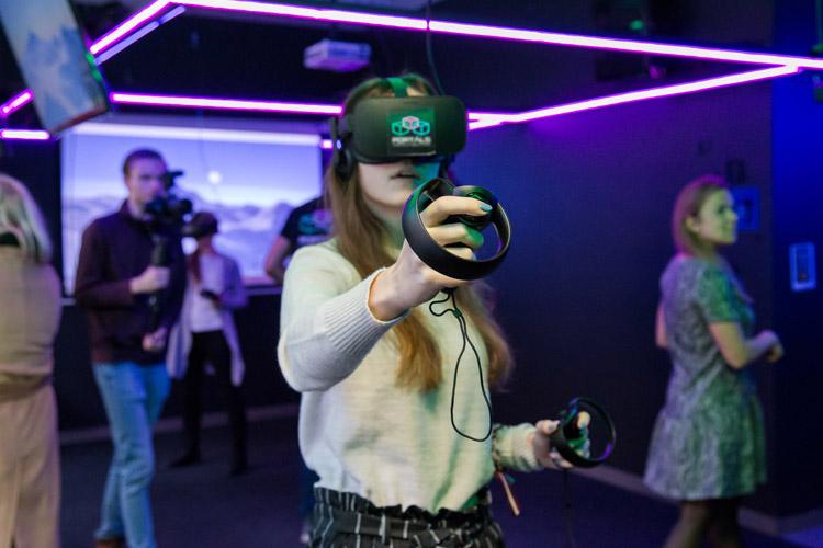 virtuālā realitāte tērbatas iela